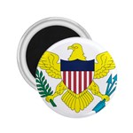 Flag_Virgin Islands, Us 2.25  Magnet