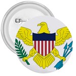 Flag_Virgin Islands, Us 3  Button