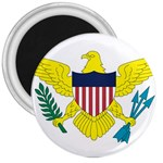 Flag_Virgin Islands, Us 3  Magnet