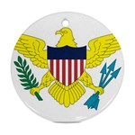 Flag_Virgin Islands, Us Ornament (Round)