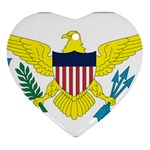 Flag_Virgin Islands, Us Ornament (Heart)