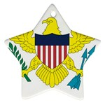 Flag_Virgin Islands, Us Ornament (Star)