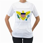 Flag_Virgin Islands, Us Women s T-Shirt