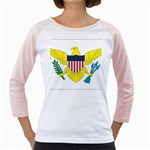 Flag_Virgin Islands, Us Girly Raglan