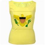 Flag_Virgin Islands, Us Women s Yellow Tank Top