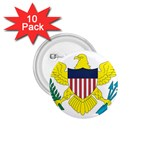 Flag_Virgin Islands, Us 1.75  Button (10 pack)