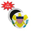 Flag_Virgin Islands, Us 1.75  Magnet (10 pack)