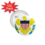 Flag_Virgin Islands, Us 1.75  Button (100 pack)