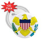 Flag_Virgin Islands, Us 2.25  Button (100 pack)