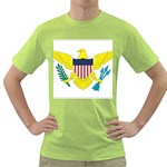 Flag_Virgin Islands, Us Green T-Shirt