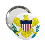Flag_Virgin Islands, Us 2.25  Handbag Mirror