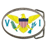 Flag_Virgin Islands, Us Belt Buckle