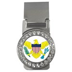 Flag_Virgin Islands, Us Money Clip (CZ)