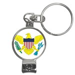 Flag_Virgin Islands, Us Nail Clippers Key Chain