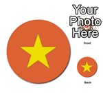 Flag_Vietnam Multi-purpose Cards (Round)