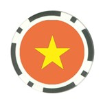 Flag_Vietnam Poker Chip Card Guard (10 pack)