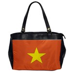 Flag_Vietnam Oversize Office Handbag (One Side)