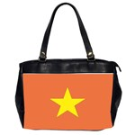 Flag_Vietnam Oversize Office Handbag (Two Sides)
