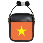 Flag_Vietnam Girls Sling Bag