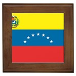 Flag_Venezuela2 Framed Tile