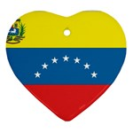 Flag_Venezuela2 Ornament (Heart)
