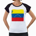 Flag_Venezuela2 Women s Cap Sleeve T