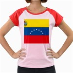 Flag_Venezuela2 Women s Cap Sleeve T-Shirt