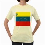 Flag_Venezuela2 Women s Yellow T-Shirt