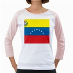 Flag_Venezuela2 Girly Raglan