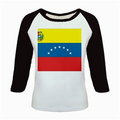 Flag_Venezuela2 Kids Baseball Jersey by worldflags4u