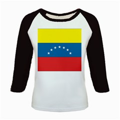 Flag_Venezuela Kids Baseball Jersey by worldflags4u
