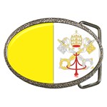 Flag_Vatican Belt Buckle