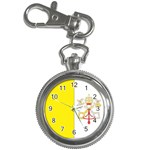 Flag_Vatican Key Chain Watch