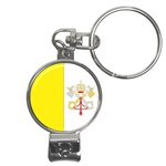 Flag_Vatican Nail Clippers Key Chain