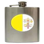 Flag_Vatican Hip Flask (6 oz)