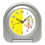 Flag_Vatican Travel Alarm Clock