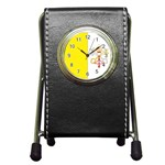 Flag_Vatican Pen Holder Desk Clock