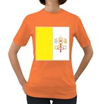 Flag_Vatican Women s Dark T-Shirt