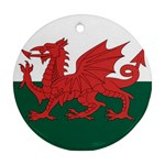 Flag_Wales Ornament (Round)