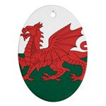 Flag_Wales Ornament (Oval)