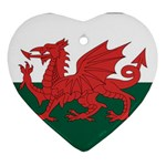 Flag_Wales Ornament (Heart)