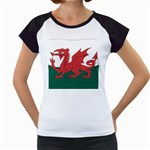 Flag_Wales Women s Cap Sleeve T