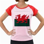 Flag_Wales Women s Cap Sleeve T-Shirt