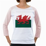 Flag_Wales Girly Raglan
