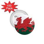 Flag_Wales 1.75  Button (100 pack)