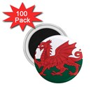 Flag_Wales 1.75  Magnet (100 pack)