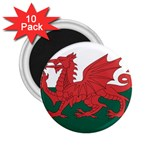 Flag_Wales 2.25  Magnet (10 pack)