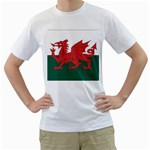 Flag_Wales White T-Shirt