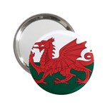 Flag_Wales 2.25  Handbag Mirror