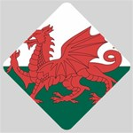 Flag_Wales Car Window Sign